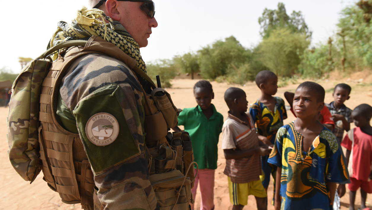 Un soldat français, membre de l'opération Barkhane, au Mali, en mai 2015. (photo d'illustration)