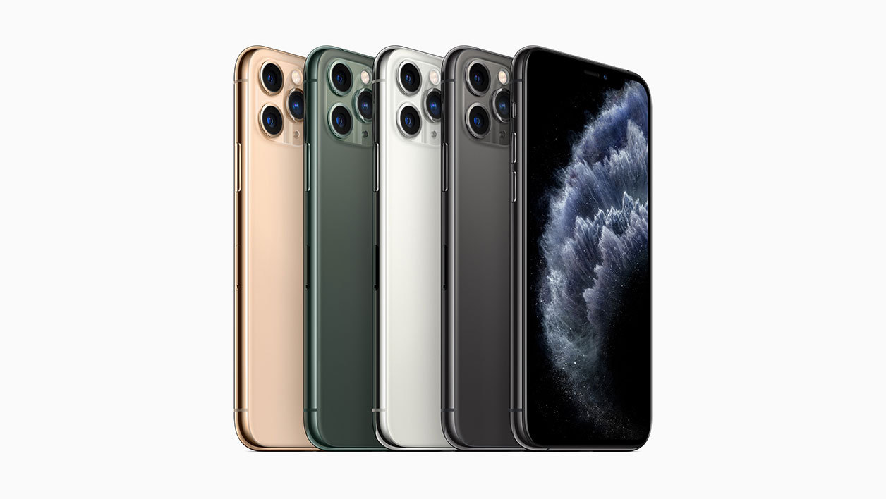 Les quatre déclinaisons d'iPhone 11 Pro