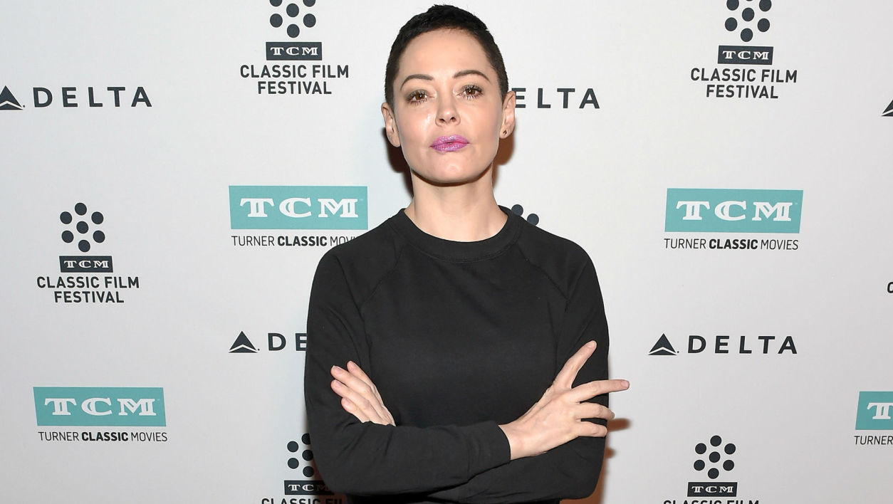 Rose McGowan à Los Angeles en 2017
