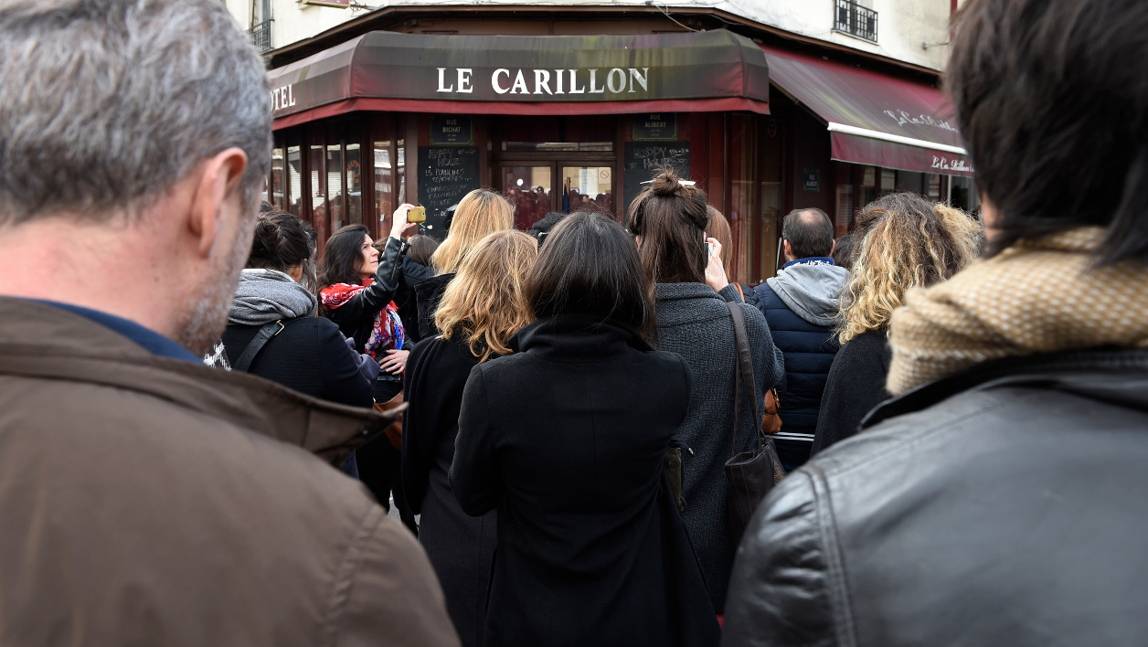 Le bar Le Carillon à Paris