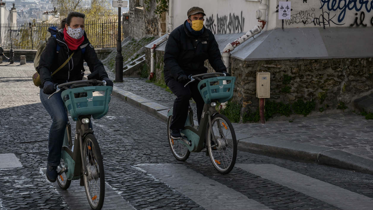 Velib' du confinement