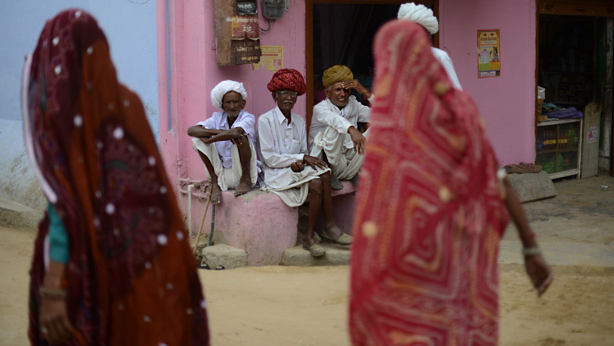 Le village de Sambhar, dans l'ouest du Rajasthan, le 17 avril 2014. (Photo d'illustration)