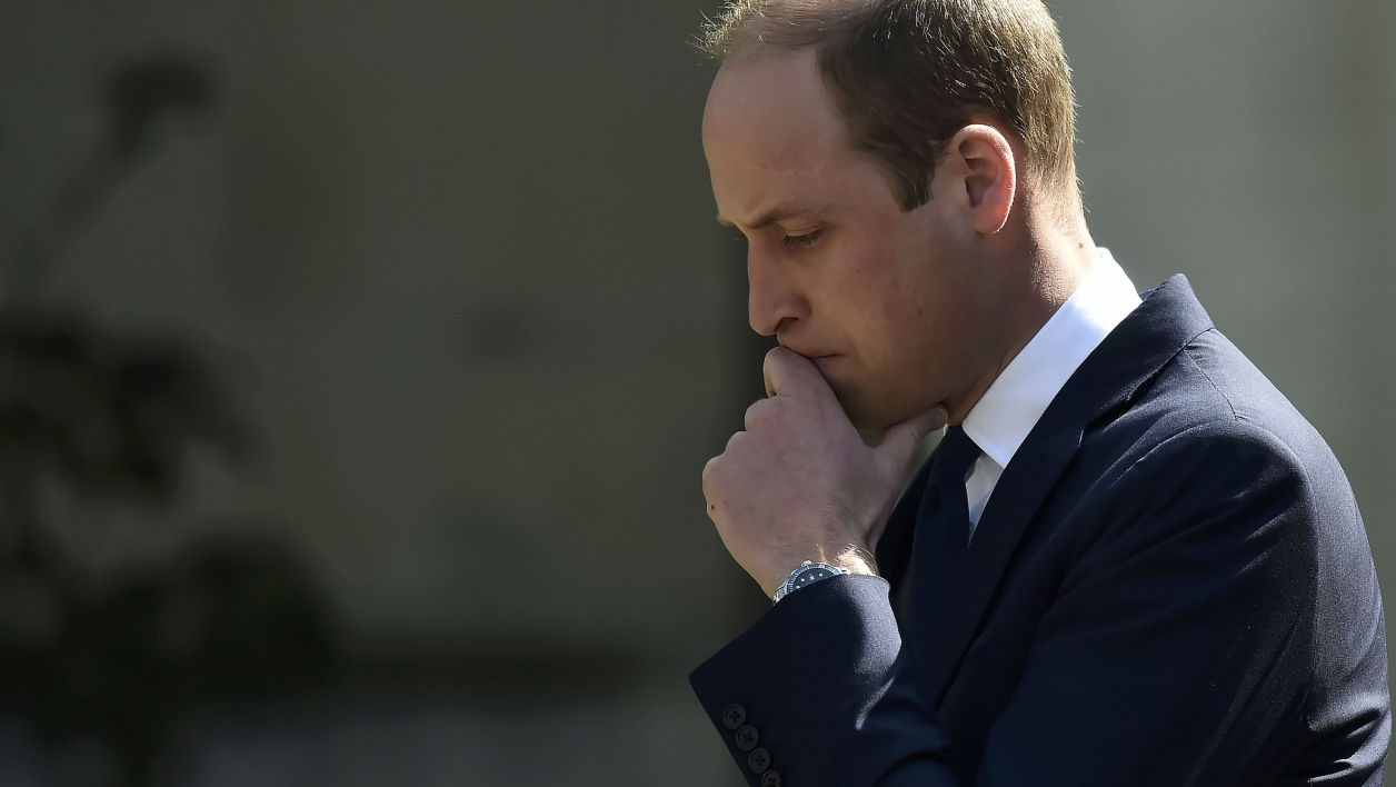 Le prince William à Londres, le 7 avril 2017