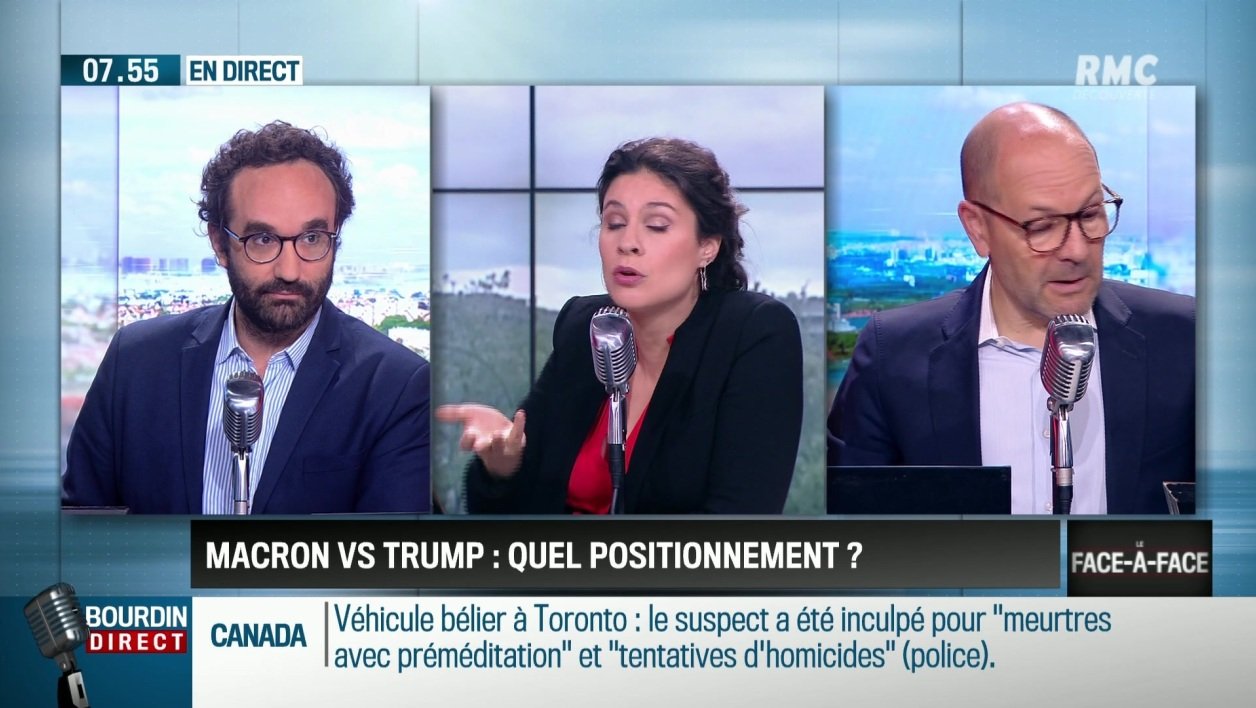 """Perri & Bouchet-Petersen"": Macron VS Trump, quel positionnement?"