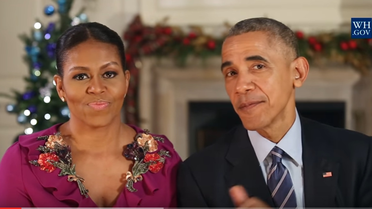 Michelle et Barack Obama.