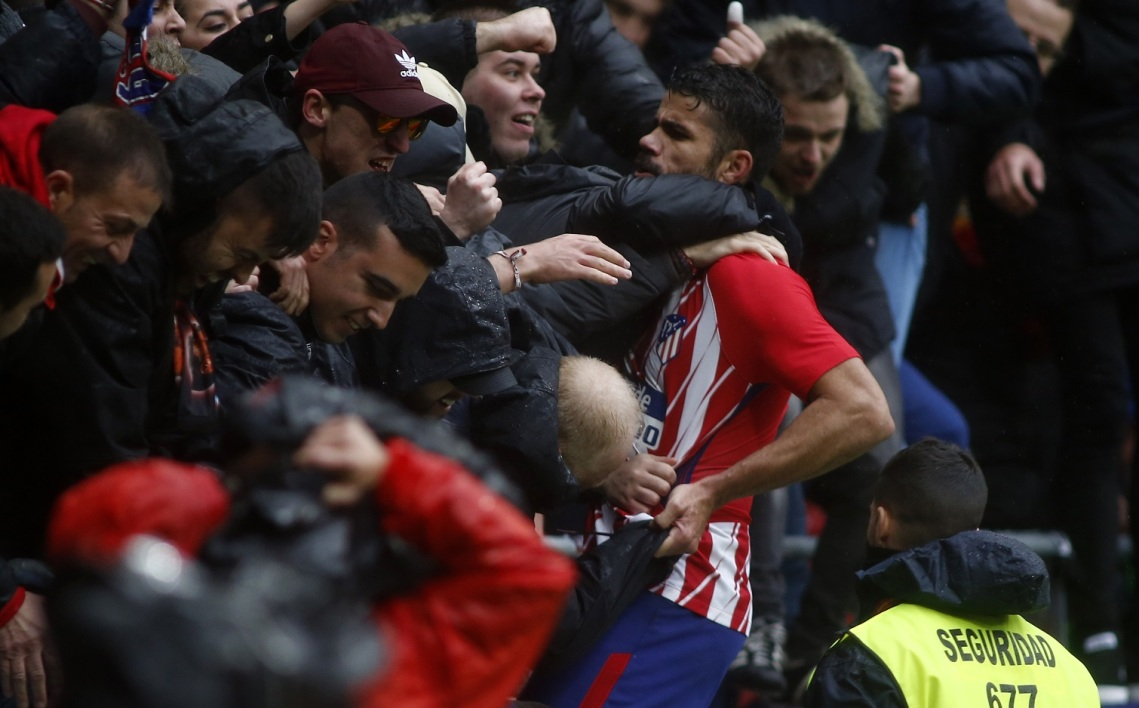 Atlético Madrid : Simeone revient sur l'expulsion de Diego Costa !