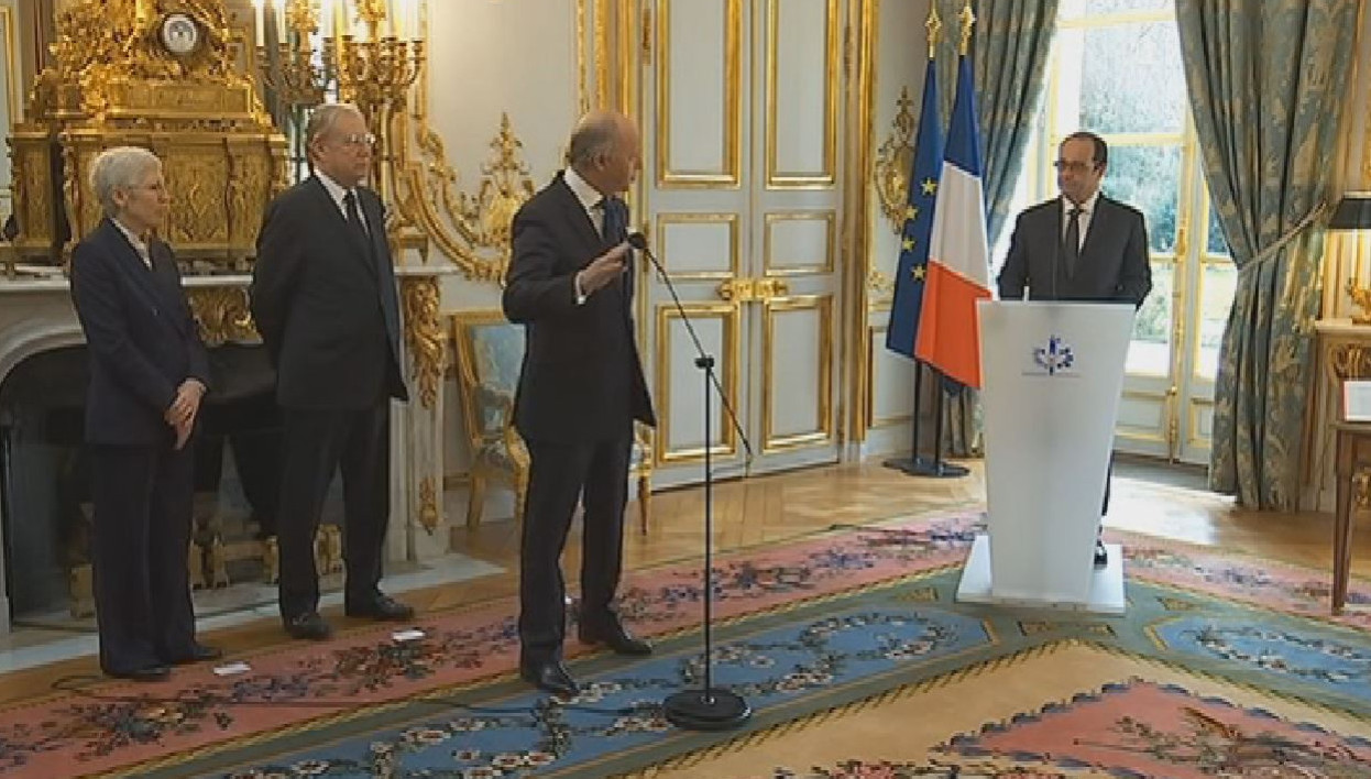 Laurent Fabius, Conseil constitutionnel, serment