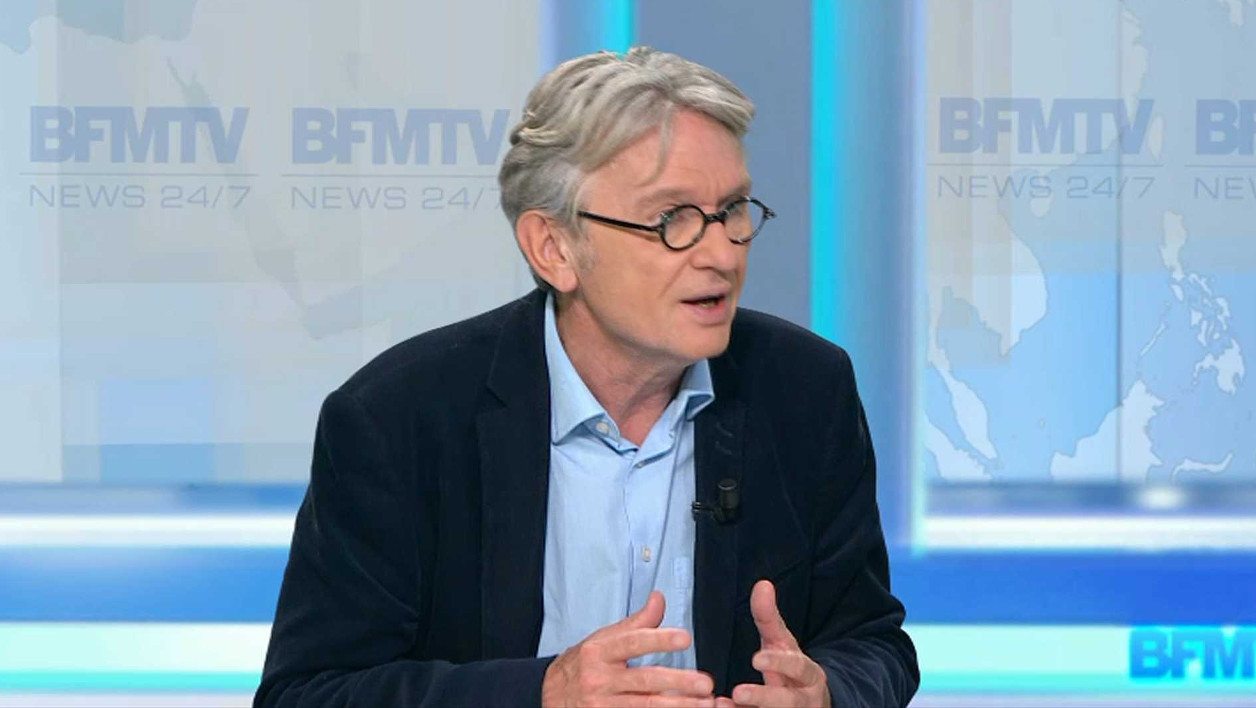Jean-Claude Mailly, le leader de FO.