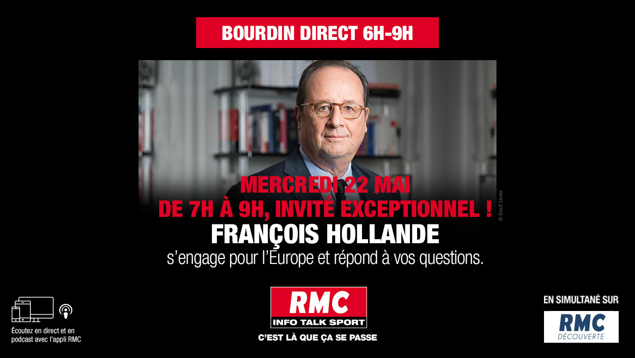 DIRECT RADIO - François Hollande invité exceptionnel de Jean-Jacques Bourdin sur RMC