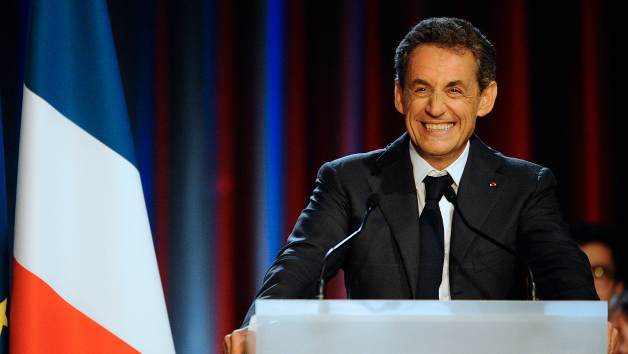 Nicolas Sarkozy en meeting à Nancy le 3 novembre 2014