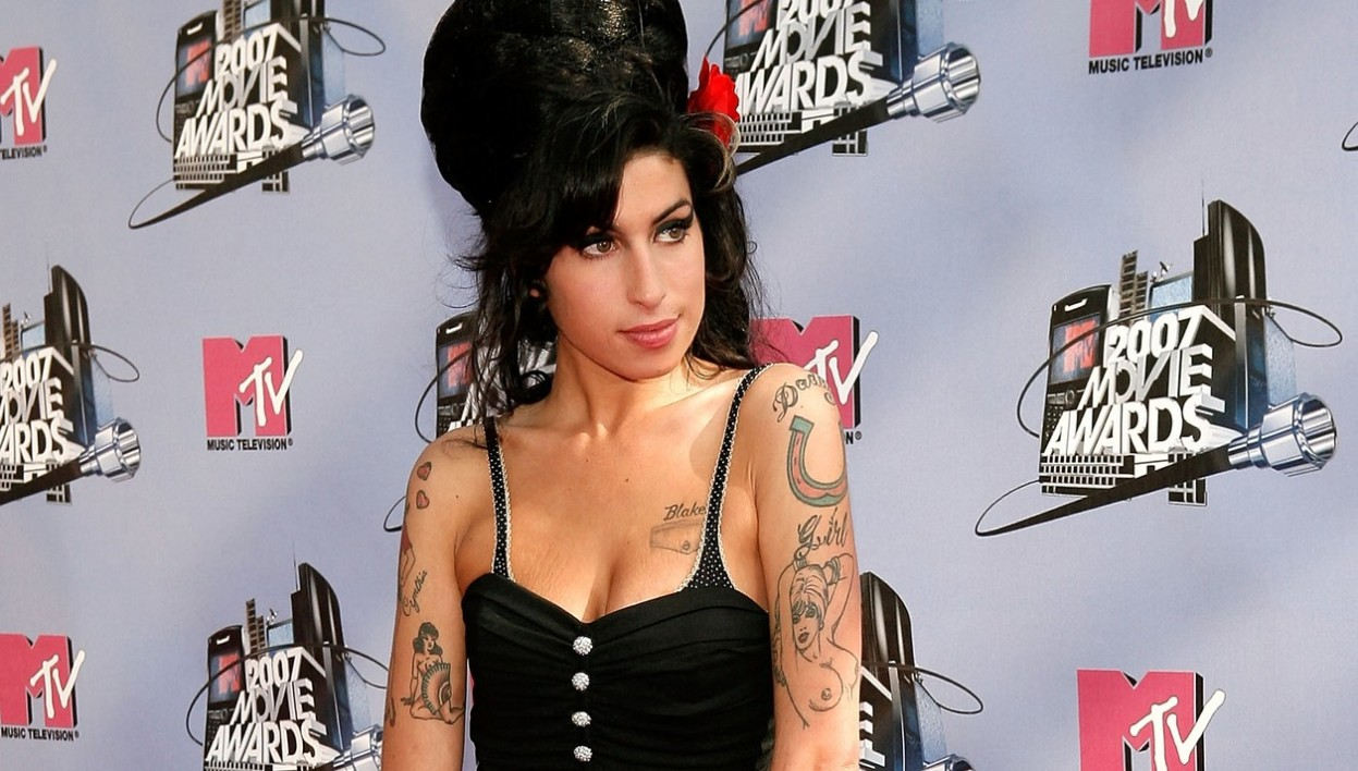 Amy Winehouse aux MTV Movie Awards en 2007.