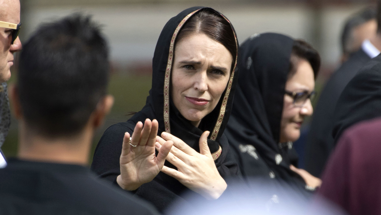 Veiled New Zealand PM