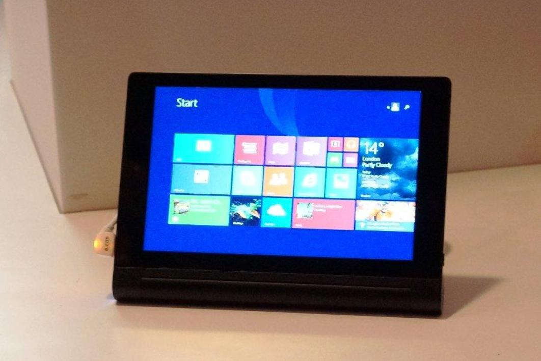 lenovo yoga tablet 2 windows 8 pouces la fiche technique. Black Bedroom Furniture Sets. Home Design Ideas