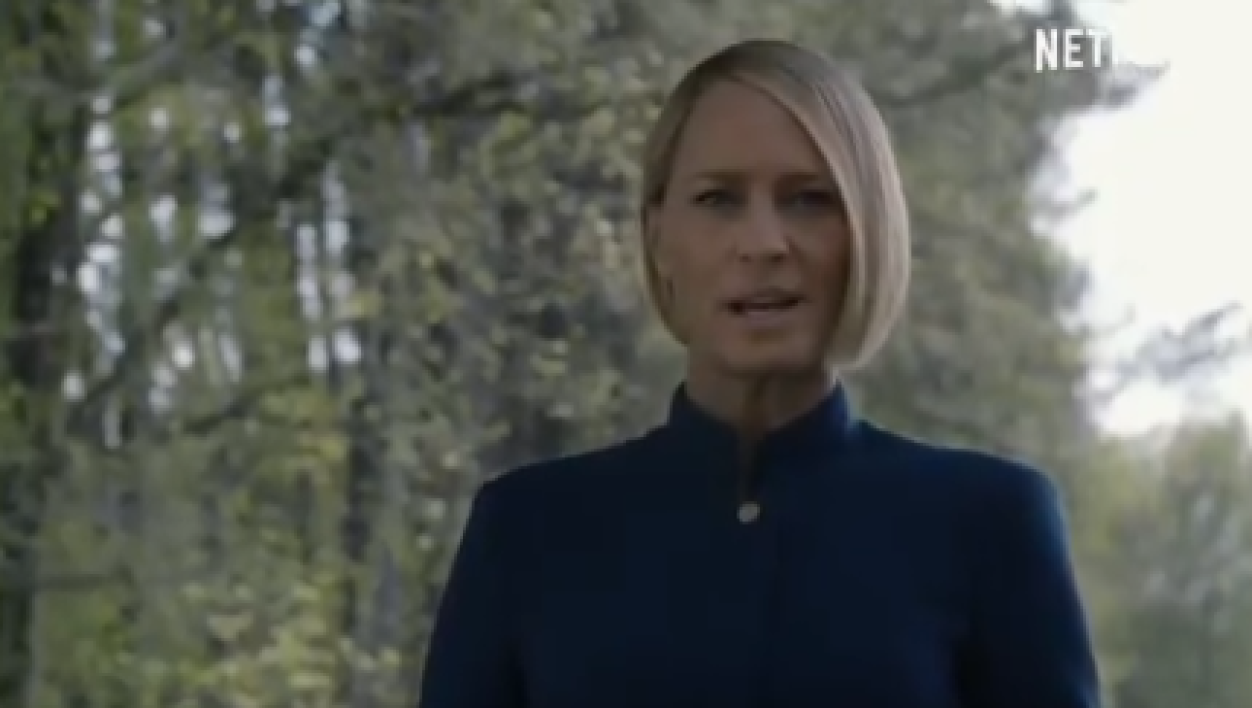 Claire Underwood (Robin Wright)