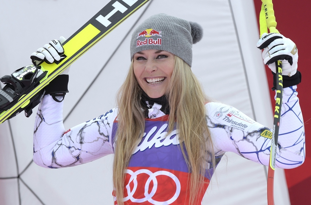 Cortina d'Ampezzo (super-G): Vonn poursuit sa moisson