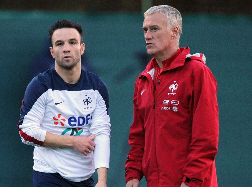 Valbuena et Deschamps