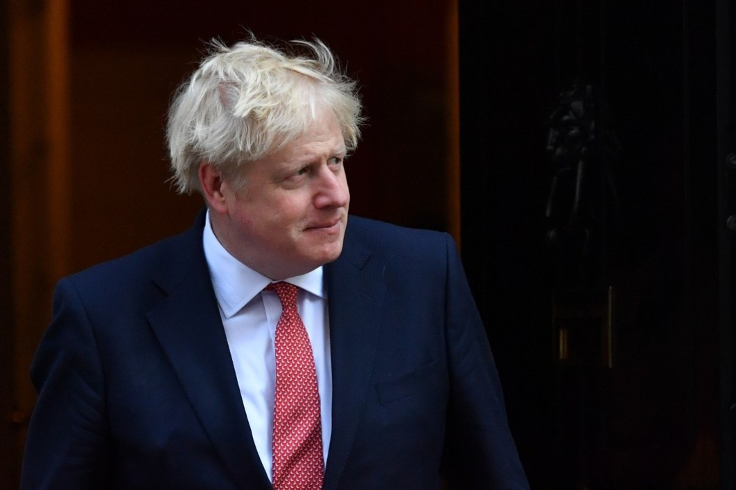 Boris Johnson à Londres le 20 septembre