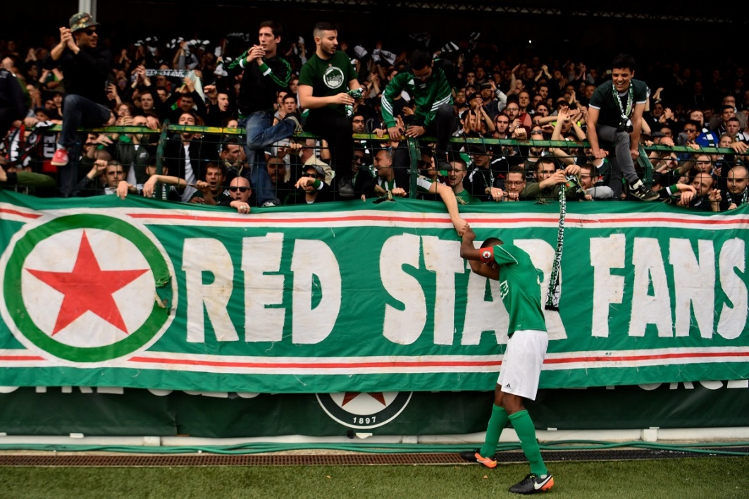Les supporters du Red Star