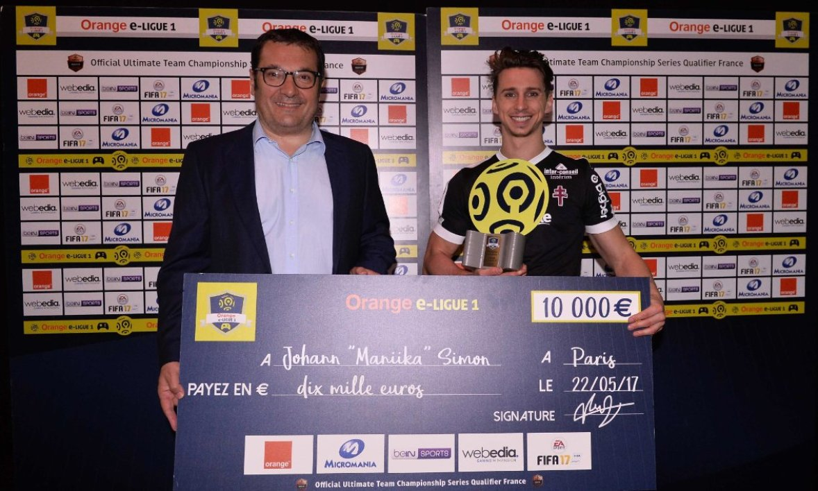 Le premier titre de champion d'Orange e-Ligue 1 pour Metz