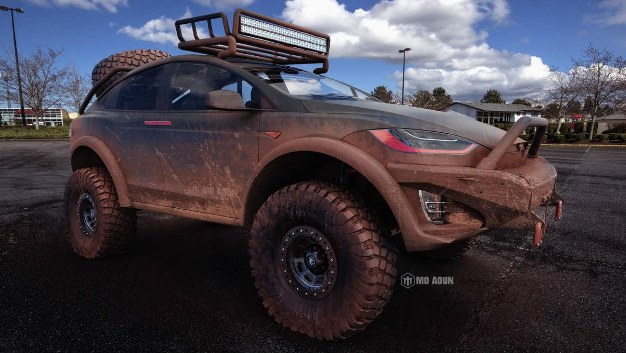 Le Model X version Dakar