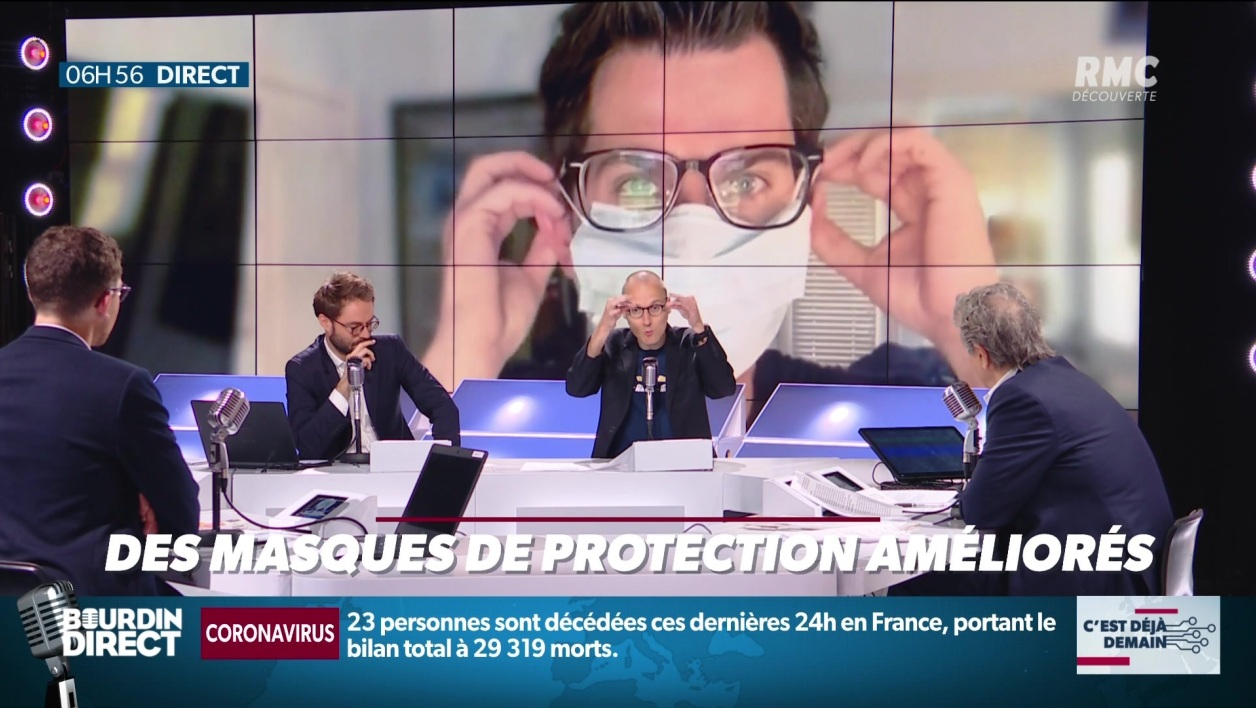 Antibuée, transparents: les masques de protection se réinventent