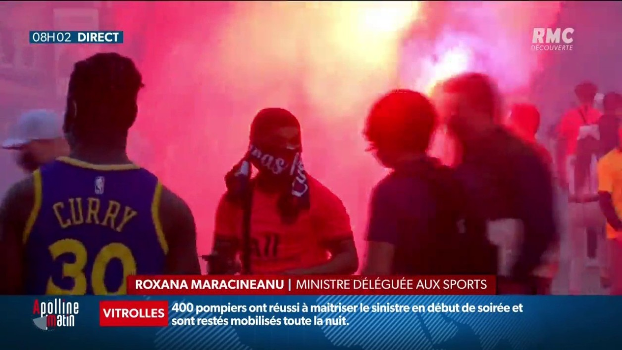 148 interpellations à Paris en marge de la finale de Ligue des champions