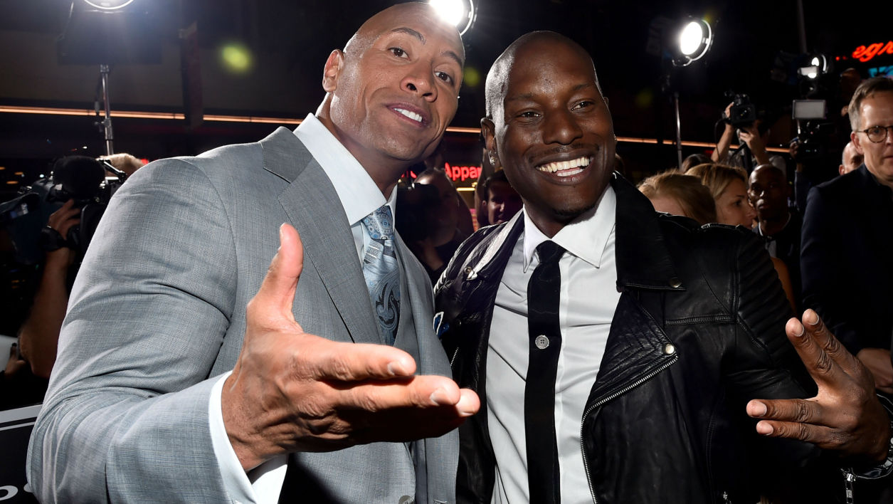 Tyrese Gibson abandonnera Fast and Furious si Dwayne Johnson n'est pas viré !
