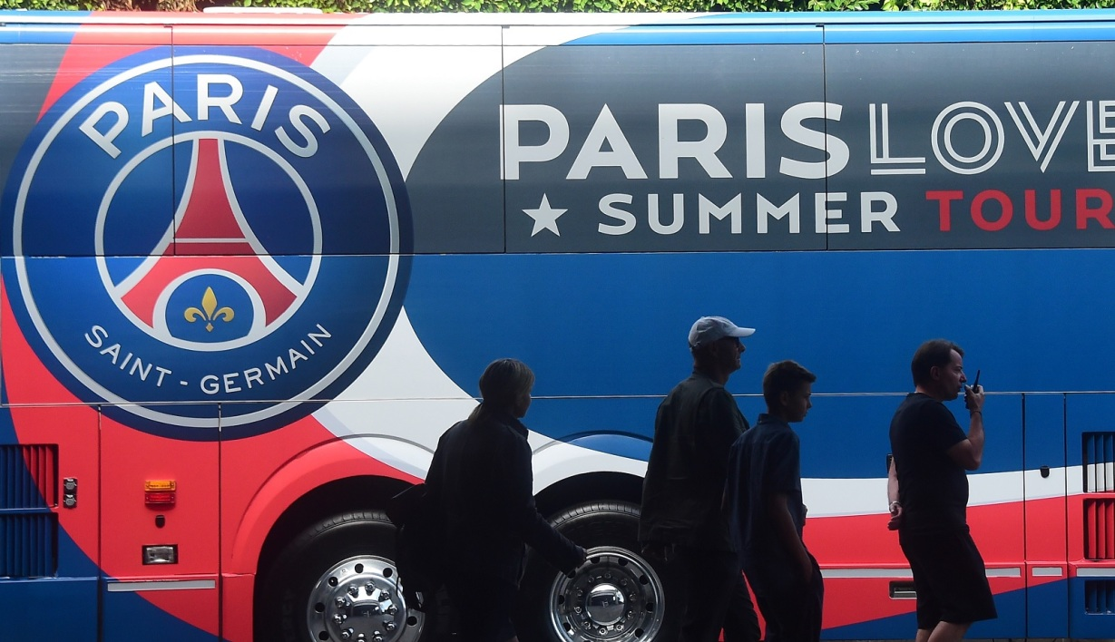 Bus du PSG (illustration)