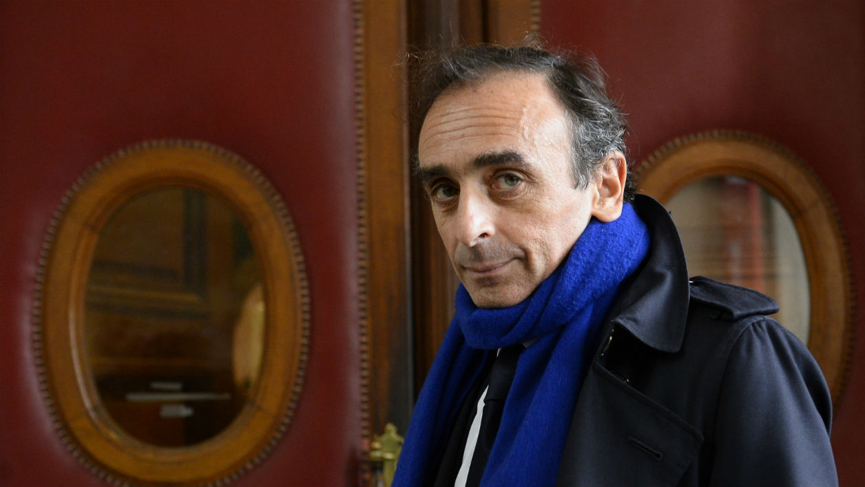 "French journalist and writer Eric Zemmour arrives at the Criminal Court in Paris on November 6, 2015, where he is prosecuted for incitement to racial hatred. In an interview given to Italian newspaper Corriere della Sera in December 2014 he said Muslims ""kept to themselves in the suburbs"" and the ""French were forced to move out"", which led to him to getting the boot from a TV channel. A leading French radio station said later it will continue working with Zemmour despite this controversial comments about Muslims."