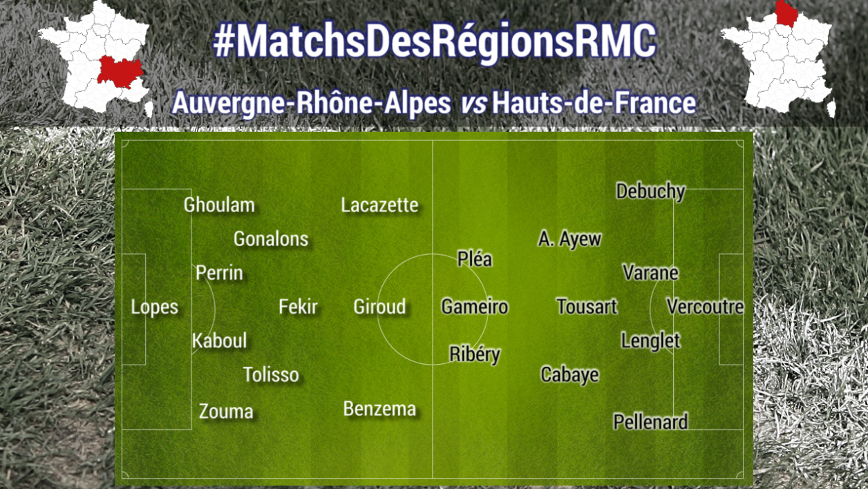 match des regions RMC