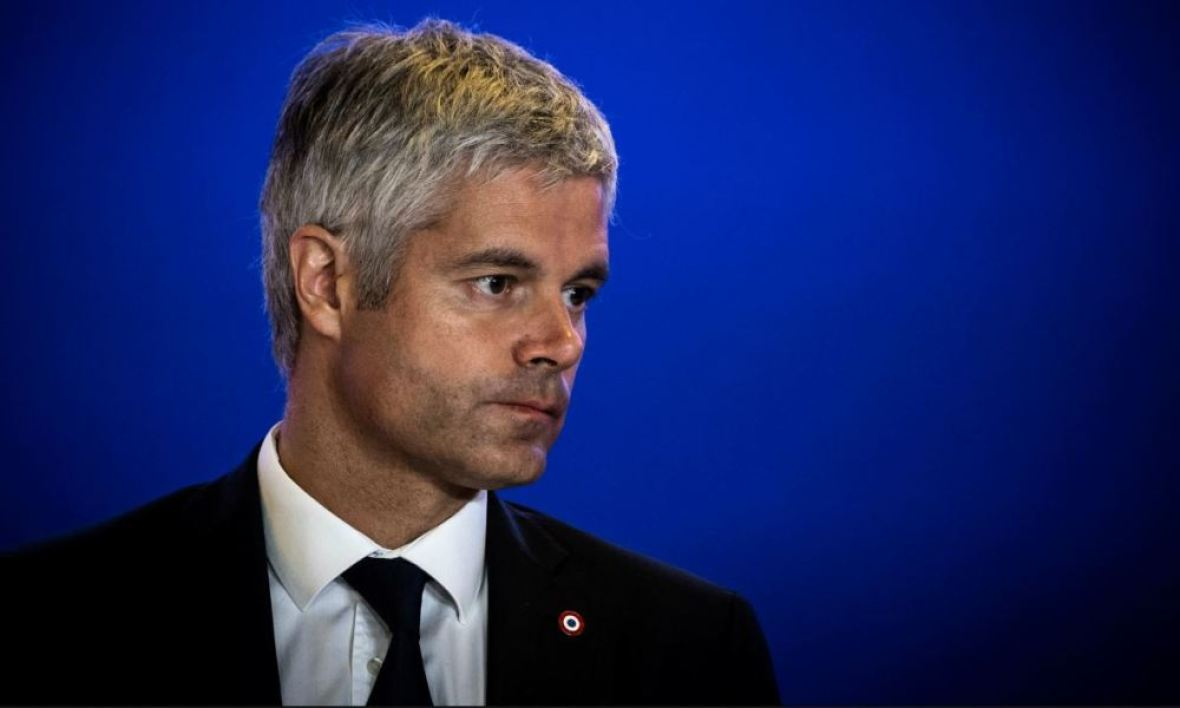 Laurent Wauquiez le 9 octobre 2018.