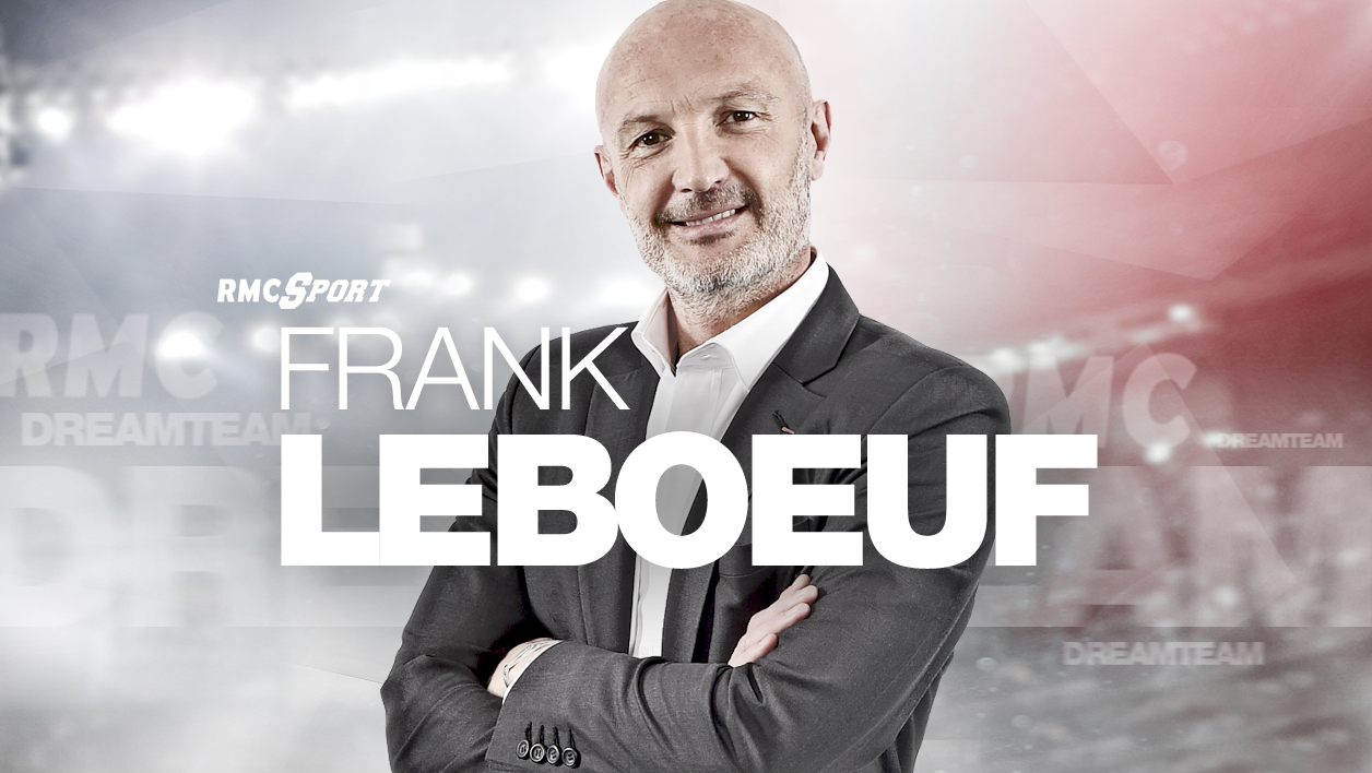 Frank Leboeuf, membre de la Dream Team RMC