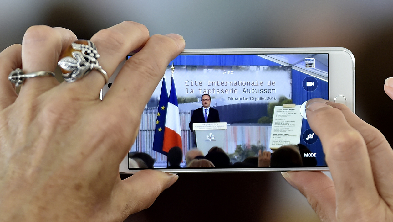 Une photo de François Hollande le 10 juillet 2016 (Photo d'illustration)