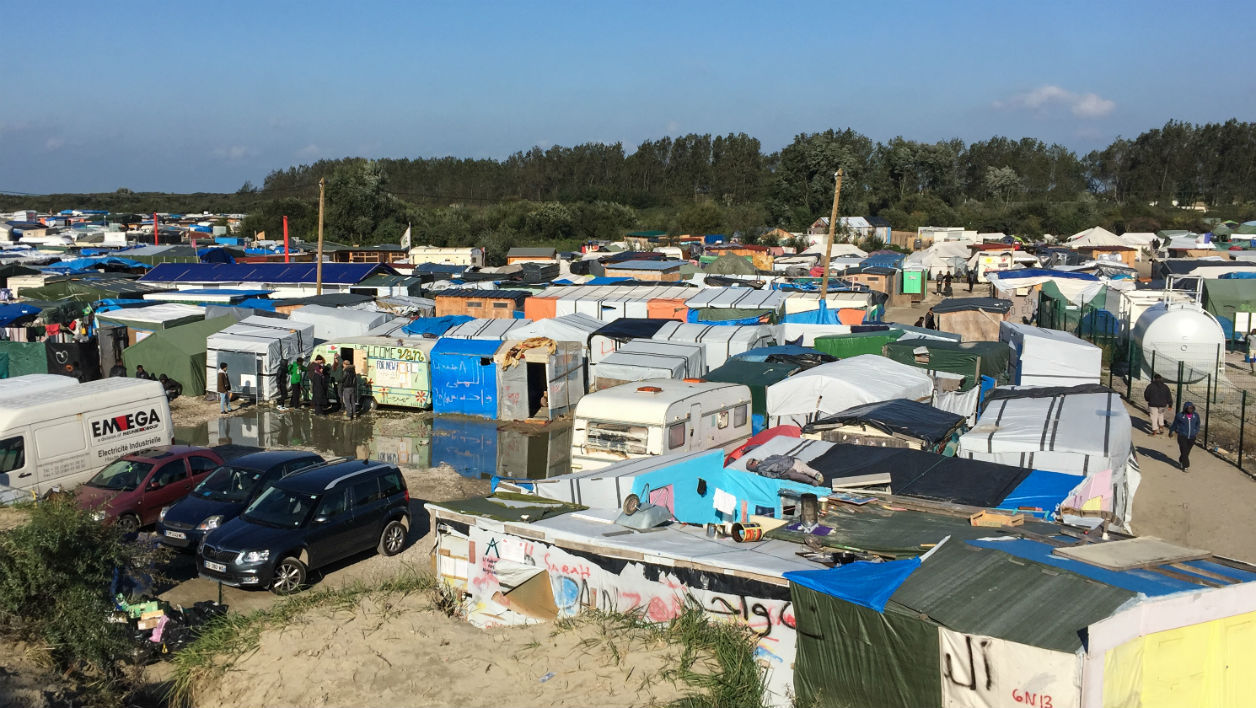 migrants, Calais, Jungle