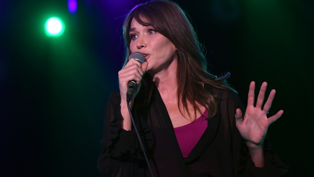 Carla Bruni à New York en juin 2017