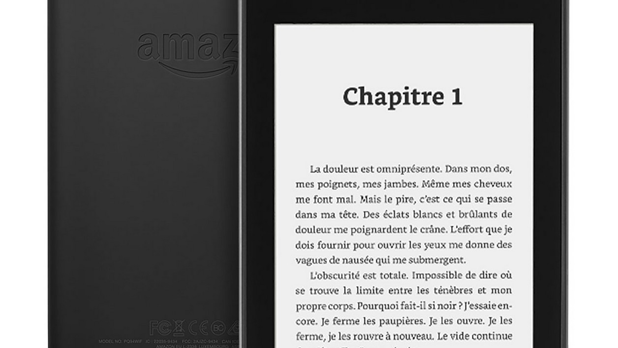 La nouvelle Kindle Paperwhite d'Amazon.