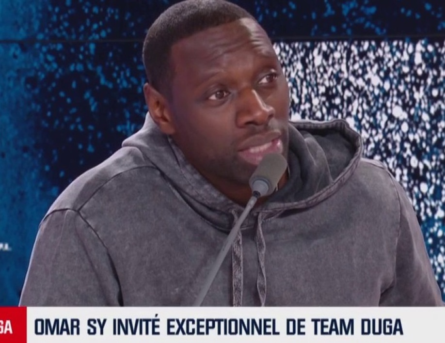 Team Duga: pourquoi Omar Sy est devenu supporter de l'OM
