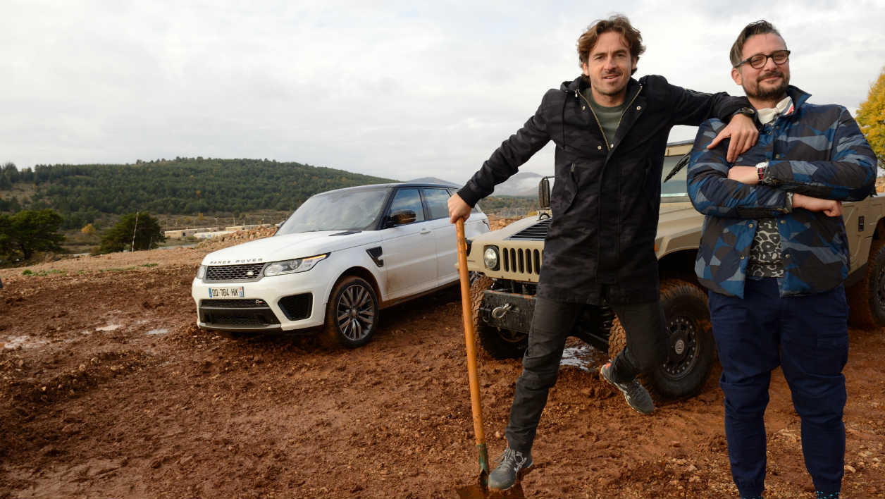 Le Tone et Bruce Jouanny Top Gear France