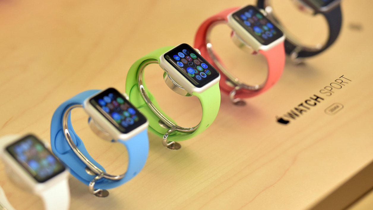 L'Apple Watch est en vente.