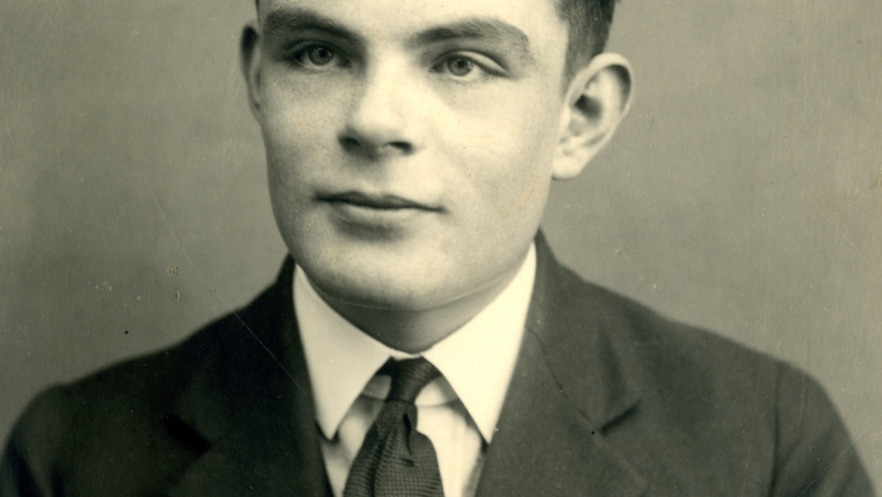 "A handout picture released by Sherborne School on June 22, 2012 shows British mathematician Alan Turing at the school in Dorset, southwest England, aged 16 in 1928. Leading scientists including Stephen Hawking urged Britain on December 14, 2012 to pardon World War II code-breaker Alan Turing, who committed suicide after he was convicted of the then crime of homosexuality. Often hailed as a father of modern computing whose code-cracking is credited with shortening World War II, Turing took his own life in 1954, two years after he was sentenced to chemical castration for the ""gross indecency"" of homosexuality. RESTRICTED TO EDITORIAL USE - MANDATORY CREDIT "" AFP PHOTO / SHERBORNE SCHOOL "" - NO MARKETING NO ADVERTISING CAMPAIGNS - DISTRIBUTED AS A SERVICE TO CLIENTS -- BLACK AND WHITE PICTURE SHERBORNE SCHOOL / AFP"