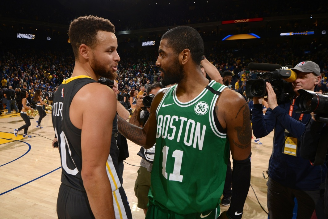 Steph Curry et Kyrie Irving