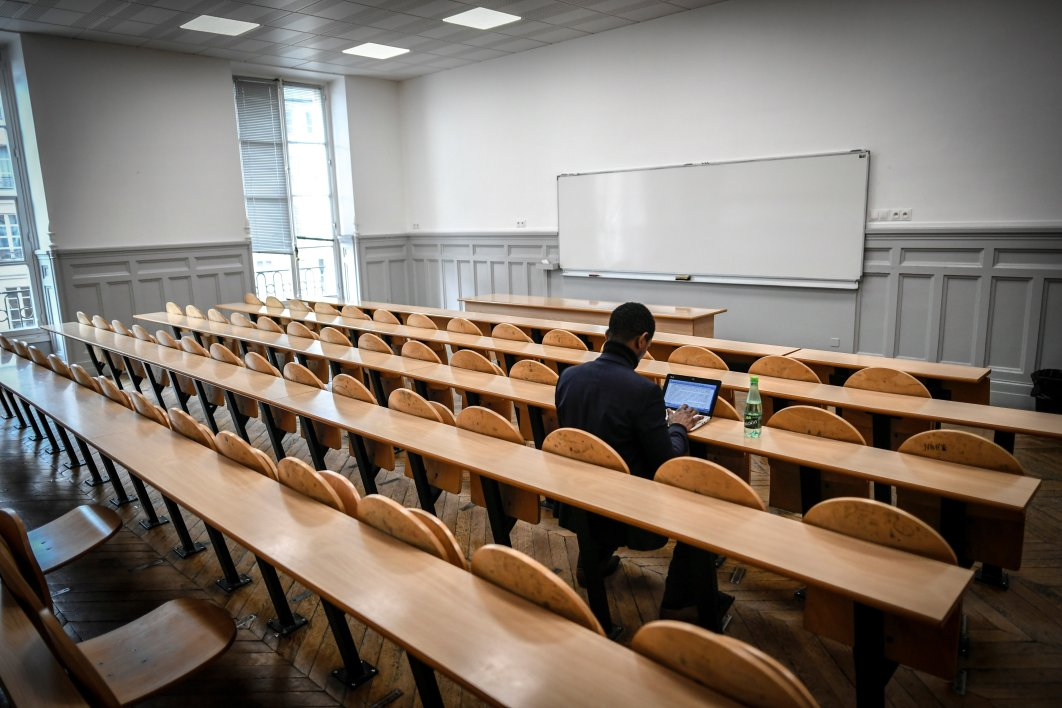 Une salle d'université (photo d'illustration)