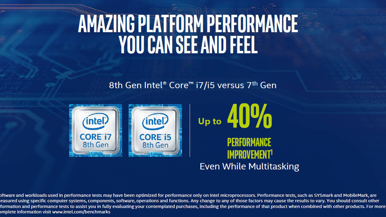 Intel Core 8th generation