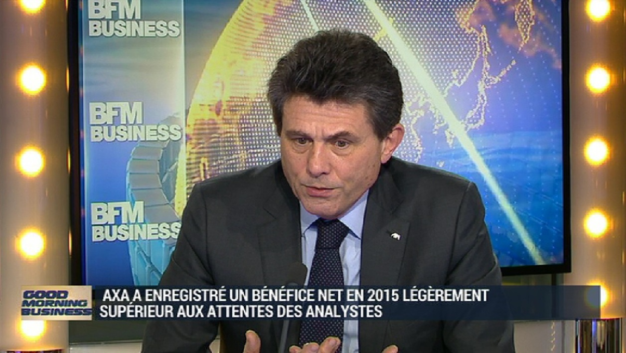 Henri de Castries était l'invité de BFM Business.
