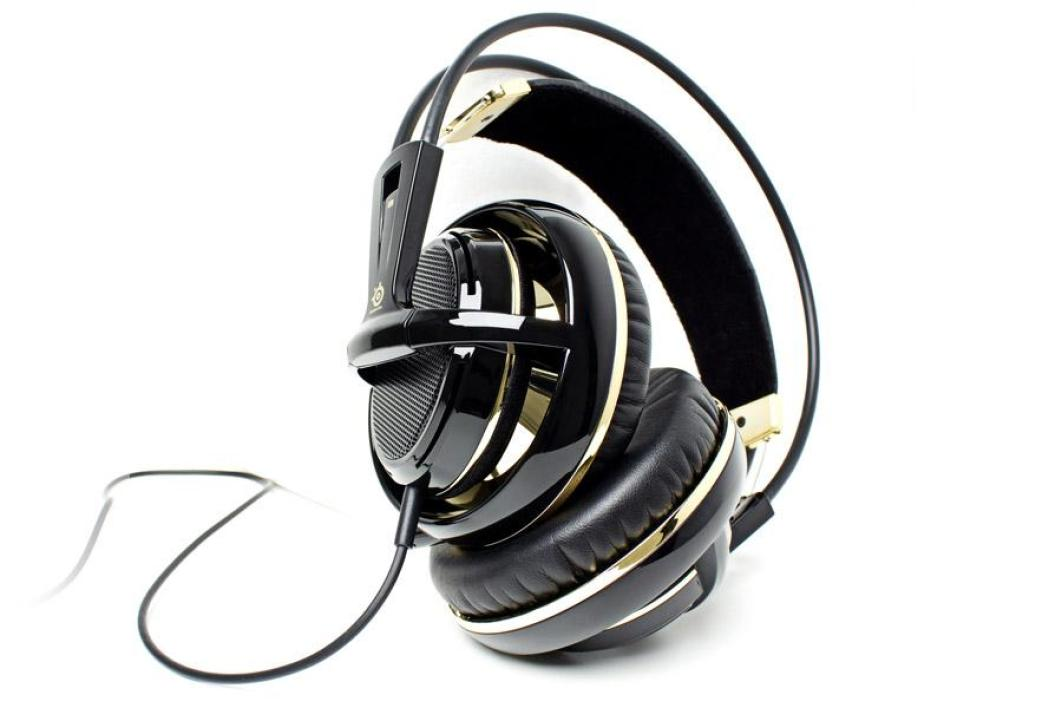 SteelSeries Siberia v2 Black and Gold