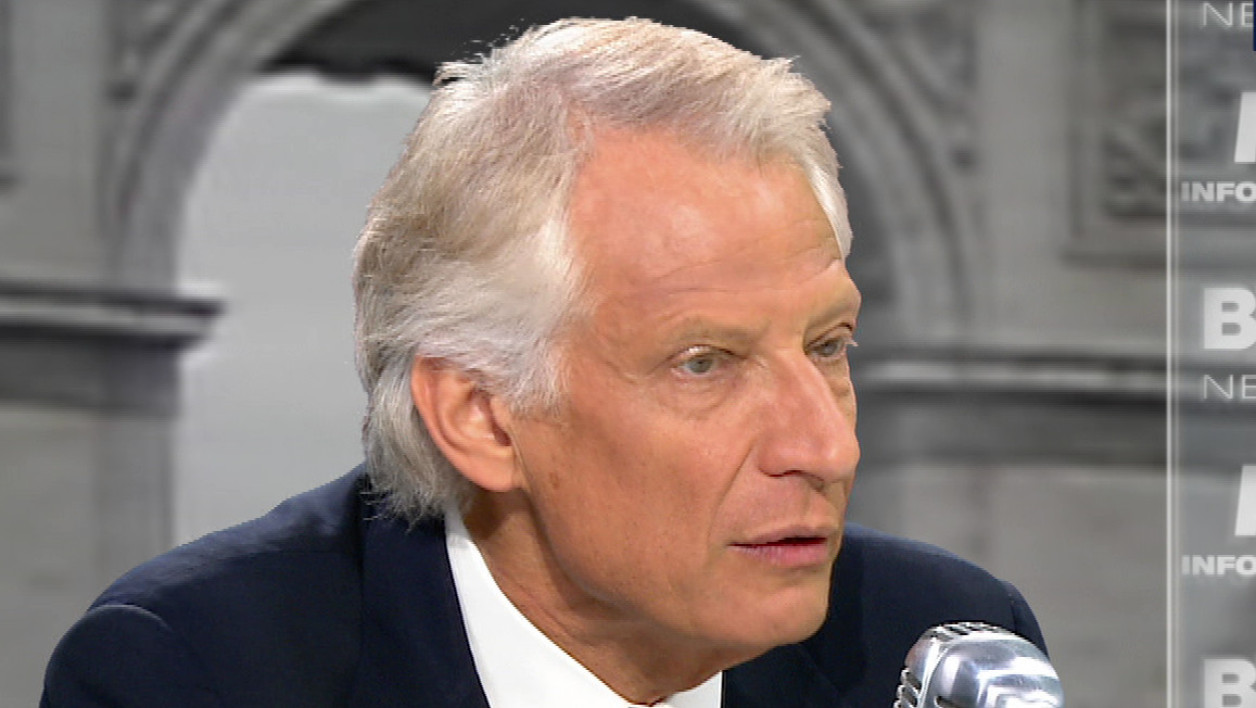 Dominique de Villepin face à Jean-Jacques Bourdin: les tweets de l'interview