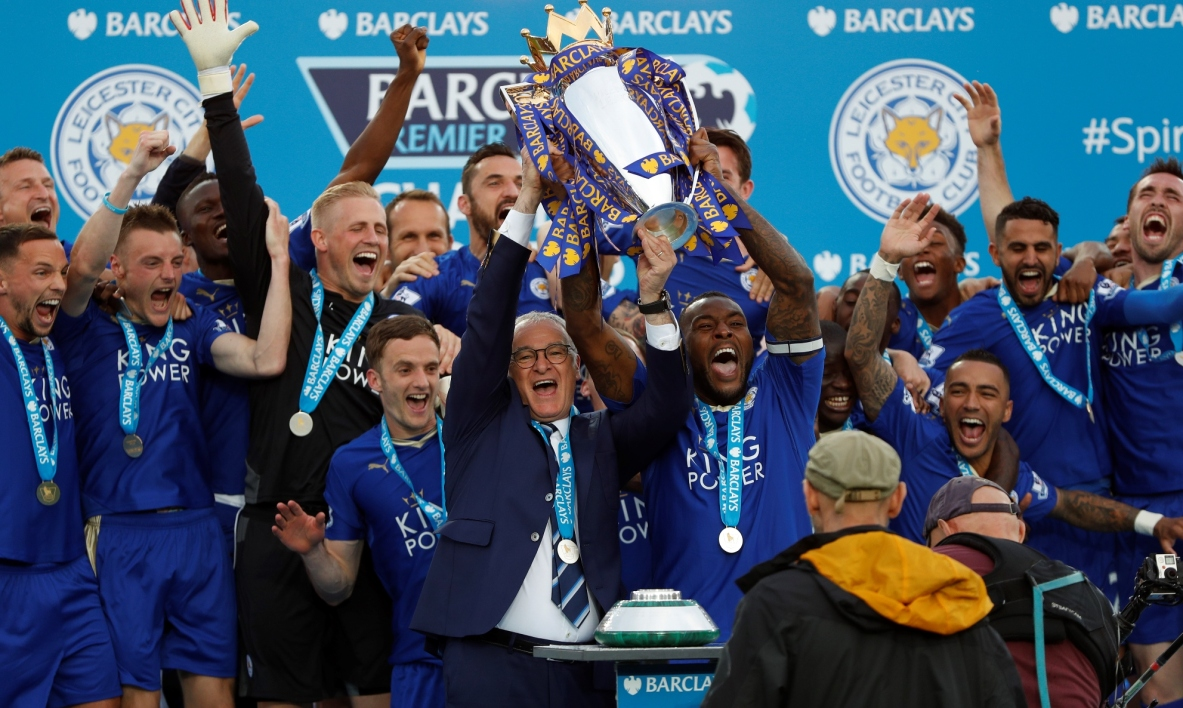 Leicester champion d'Angleterre !