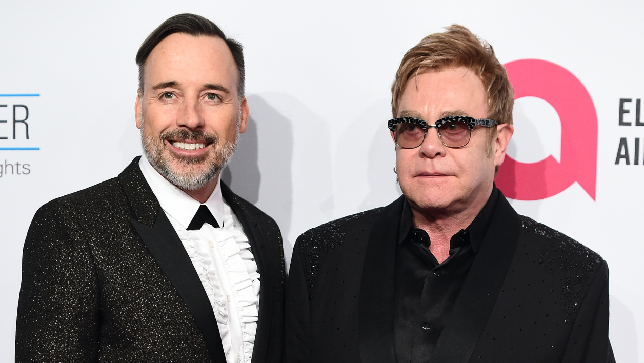 Elton John et David Furnish, désormais mariés (photo d'illustration)