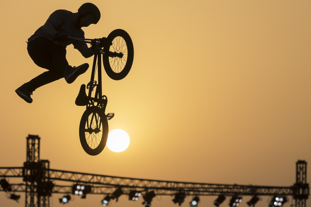 FISE: Anthony Jeanjean, grand espoir du BMX freestyle park