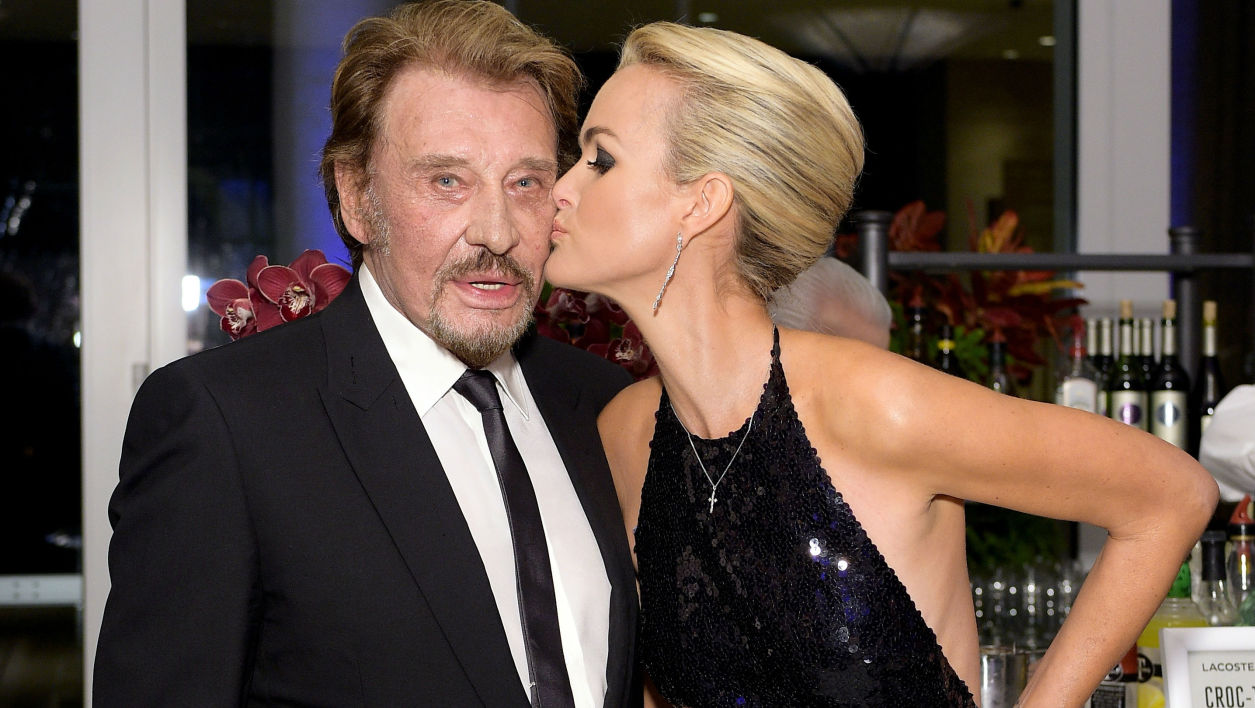 Johnny Hallyday et Laeticia à Beverly Hills en 2015